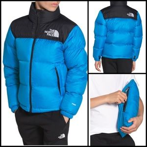 NorthFace Nuptse Goose Down Quilted Puffer Coat